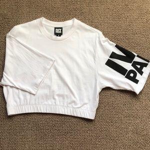 IVY PARK crop top white - Medium